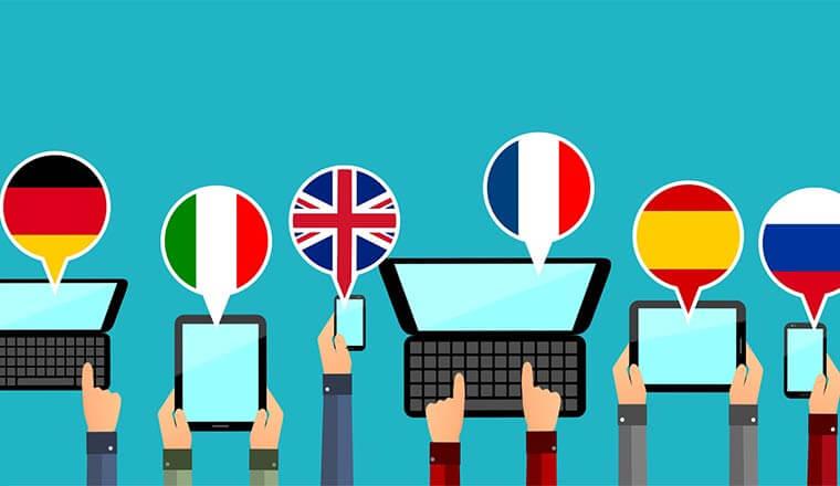 multilingual多语言网站