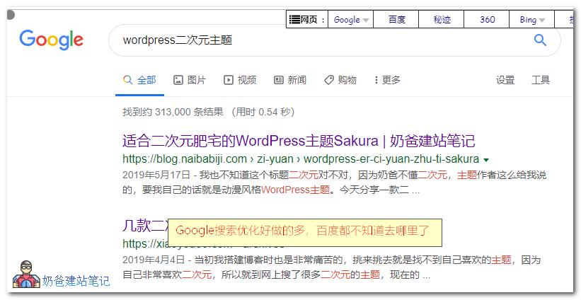 wordpress二次元主题