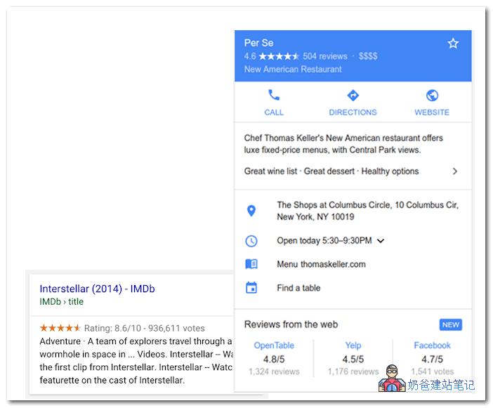 Google评分