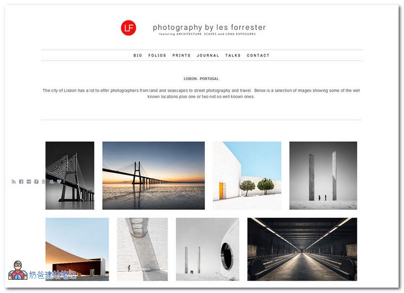 WordPress摄影网站